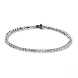Mestergull Tennisarmbånd i hvitt gull med 68 diamanter à 0,04 ct. MG DIAMONDS Armbånd