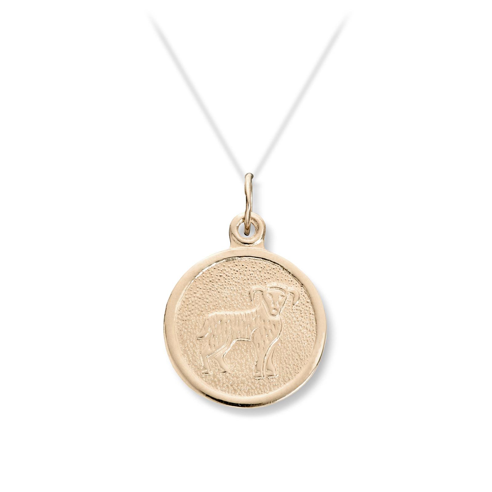 stjernetegn smykker i gull