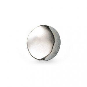 Mestergull Blank knapp i sølv til til Vossabunaden. NORSK BUNADSØLV Knapp