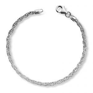 Mestergull Enkelt armbånd i sølv MESTERGULL Armbånd