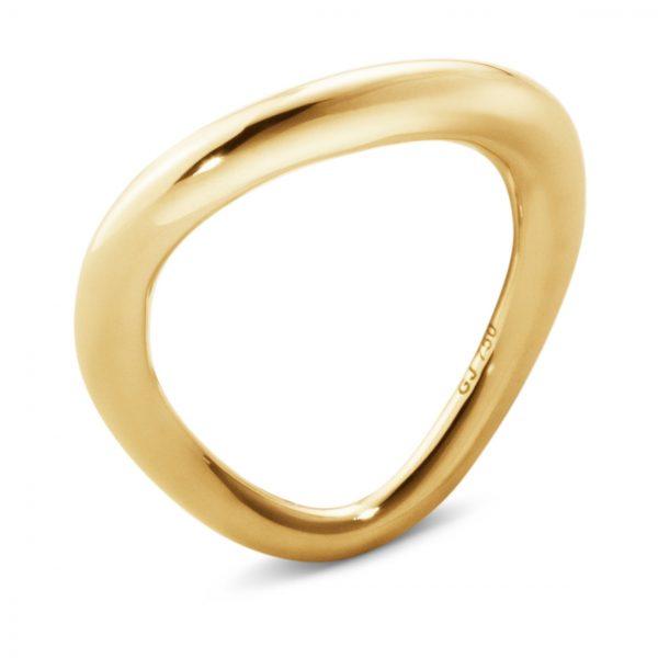 Mestergull Offsspring ring i 18kt. gult gull GEORG JENSEN Offspring Ring