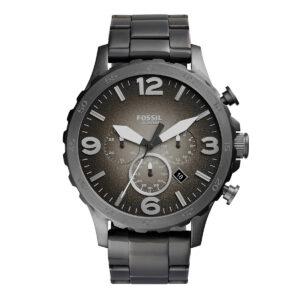 Mestergull Legg litt militærinnspilt stil på håndleddet med vår matte, rustfrie stålklokke. FOSSIL Ur