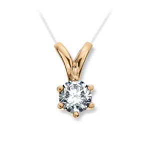 Mestergull Madonna er originalen og enstens klassikeren, velg mellom diamanter i størrelser fra 0,10 ct. til 2,00 ct. MADONNA Anheng