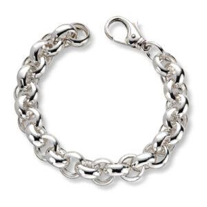 Mestergull Tøft armbånd i sølv ertekjede 21 cm MESTERGULL Armbånd