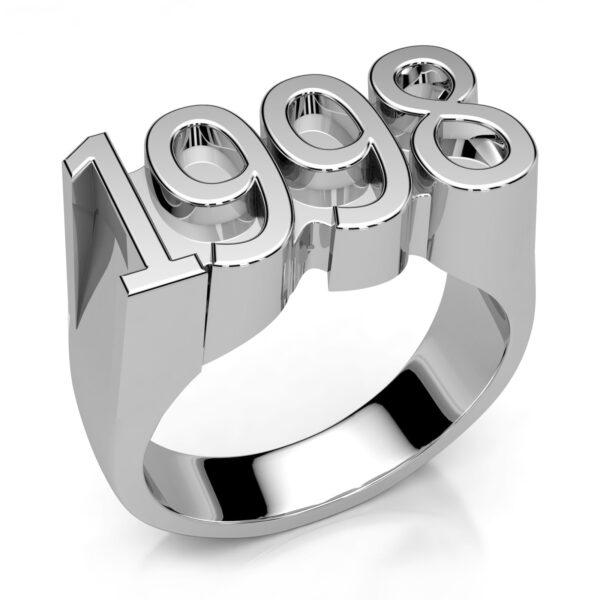 Mestergull Ring i sølv 925 utviklet for kunde. Ringen er utført i kraftig utførelse med kraftig tredimensjonalitet DESIGN STUDIO Spesialdesign Ring