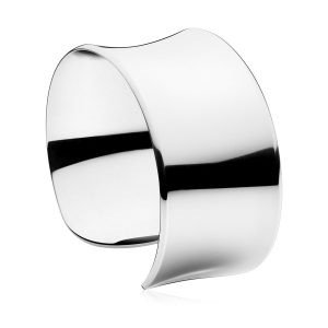 Mestergull Narrow Bangle Armring i sølv GEORG JENSEN Armring