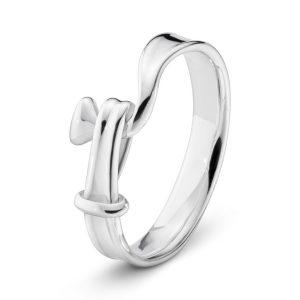 Mestergull Torun Ring i sølv GEORG JENSEN Torun Ring