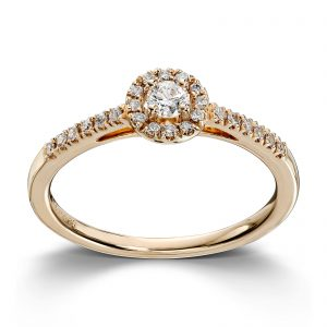 Mestergull Fantastisk ring i gult gull med diamanter MG DIAMONDS Ring