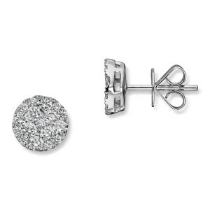 Mestergull Flott ørepynt i hvitt gull med diamanter MG DIAMONDS Ørepynt