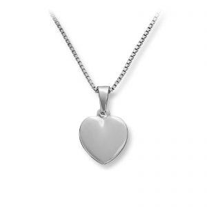 Mestergull Søtt hjerteanheng i sølv MG BASIC Anheng