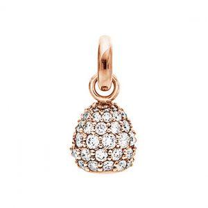 Mestergull Charm Sweet Drops i 18 K Rosé gull pavért med 66 diamanter totalt 1,98 ct. TwVs LYNGGAARD Sweet Drops Charm
