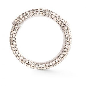 Mestergull Nature Ring i 18 K Hvitt gull pavé med 49 - 62 diamanter totalt 1,01 - 1,57 ct. TwVs LYNGGAARD Nature Ring