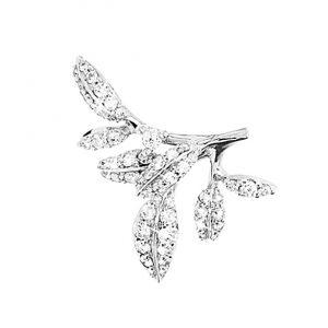 Mestergull Winter Frost vedheng til ørering liten i 18 K Hvitt gull med 56 diamanter totalt 0,30 ct. TwVs LYNGGAARD Winter Frost Anheng