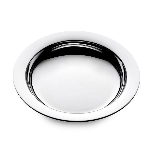 Mestergull Sølv barnetallerken i mønsteret Glatt MARTHINSEN Skål / Tallerken