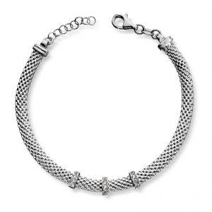 Mestergull Flott armbånd i sølv MESTERGULL Armbånd