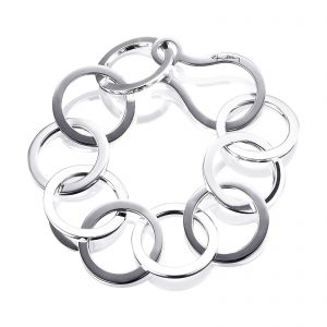 Mestergull I love to dance and used to be a go-go dancer on TV shows. Let the bracelet dance around your wrist. - Efva Attling EFVA ATTLING Link a Go - Go Armbånd