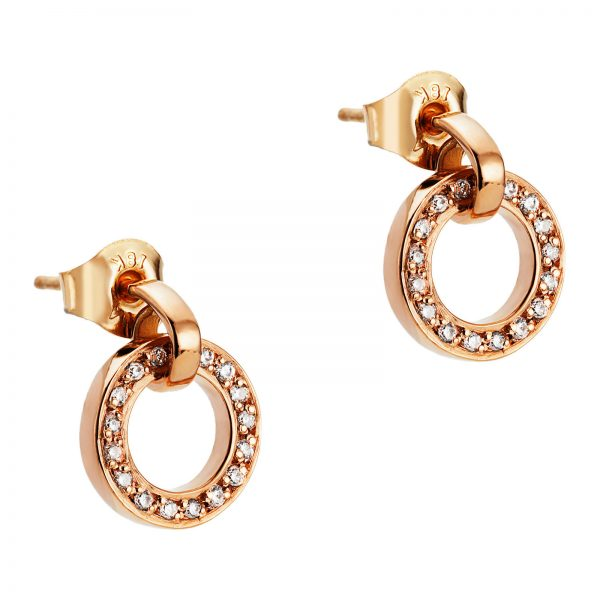 Mestergull Won`t you wear my ring around your neck - sparkles just like Elvis sang. - Efva Attling EFVA ATTLING Ring Around Ørepynt