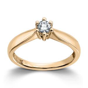 Mestergull Madonna er originalen og enstens klassikeren med matchende diamantring, anheng og ørepynt i gult eller hvitt gull. Velg mellom diamanter i størrelser fra 0,10 ct. til 2,00 ct. MADONNA Ring