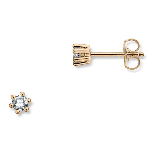 Mestergull Madonna er originalen og enstens klassikeren med matchende diamantring, anheng og ørepynt i gult eller hvitt gull. Velg mellom diamanter i størrelser fra 0,10 ct. til 2,00 ct. MADONNA Ørepynt