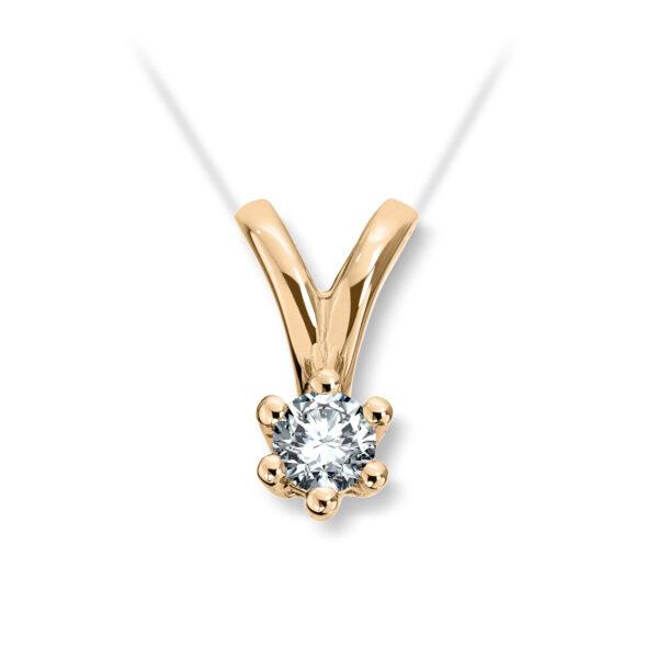 Mestergull Madonna er originalen og enstens klassikeren med matchende diamantring, anheng og ørepynt i gult eller hvitt gull. Velg mellom diamanter i størrelser fra 0,10 ct. til 2,00 ct. MADONNA Anheng