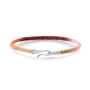 Mestergull Life armbånd med SØLVlås i fargen Berry (15, 16, 17, 18, 19, 20 eller 21 cm) LYNGGAARD Life Armbånd