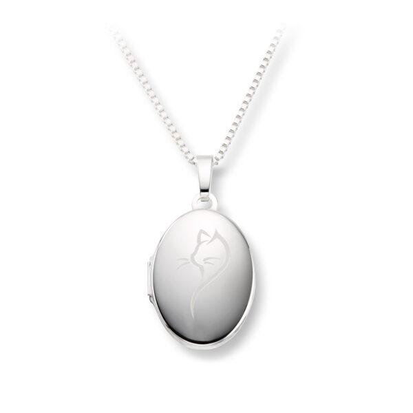 Mestergull Flott medaljong i sølv MESTERGULL Anheng