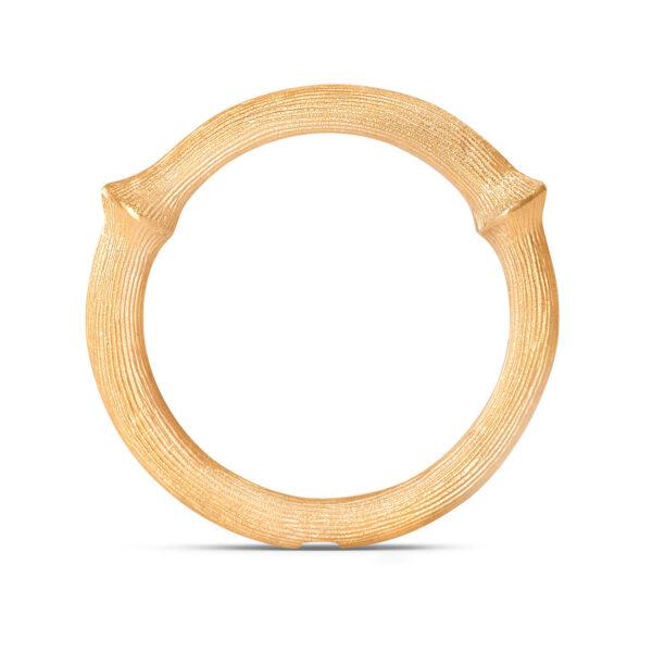 Mestergull Nature Ring nr. 3 i 18 K Gult gull LYNGGAARD Nature Ring