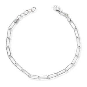 Mestergull Trendy armbånd i rhodinert sølv GID Armbånd