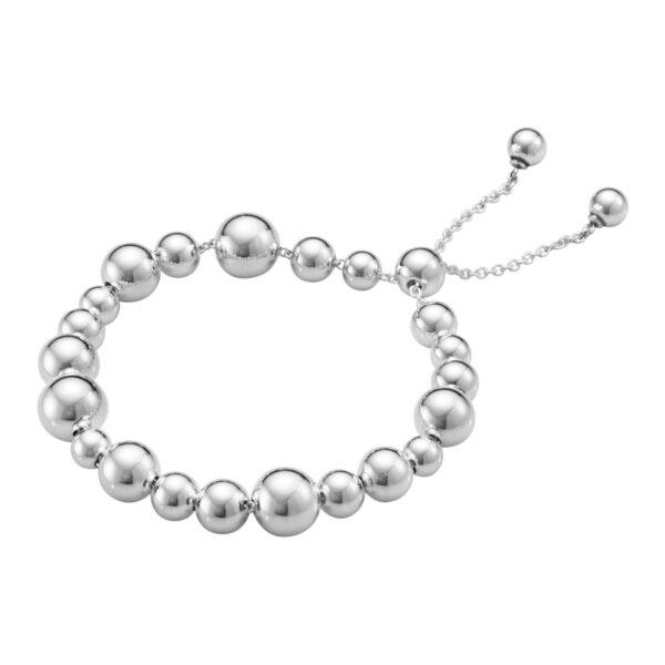 Mestergull Moonlight Grapes armbånd i sølv GEORG JENSEN Grape Armbånd