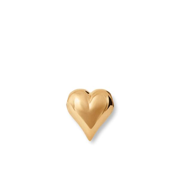 Mestergull Heart lås 18 kt. gult gull polert, selges uten kjede LYNGGAARD Hearts Diverse
