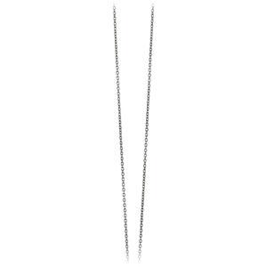 Mestergull Kjede anker i oksidert sølv. Justerbart kjede 45/42/40 cm LYNGGAARD Kjede