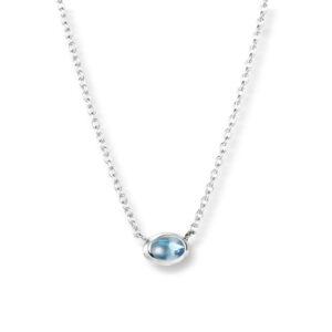 Mestergull Love Beads - lite, enkelt og elegant anheng i sølv EFVA ATTLING Love Bead Kjede