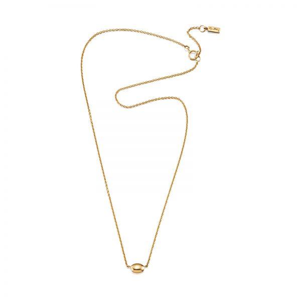 Mestergull Love beads in silver and gold. - Efva Attling EFVA ATTLING Love Bead Kjede