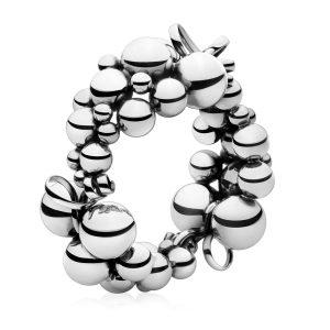 Mestergull Grape Armbånd i sølv GEORG JENSEN Grape Armbånd
