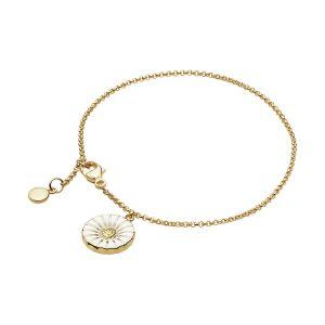 Mestergull Daisy Armbånd i 18k forgylt sølv GEORG JENSEN Daisy Armbånd