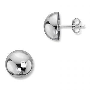 Mestergull Enkel ørepynt i rhodinert sølv GID Ørepynt