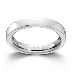 Mestergull Sølv glatt ring.Denne er fin i kombinasjon med flere ringer fra GID Stackable GID Stackable Ring