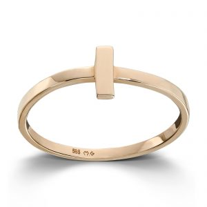Mestergull Tøff ring i gult gull MESTERGULL Ring