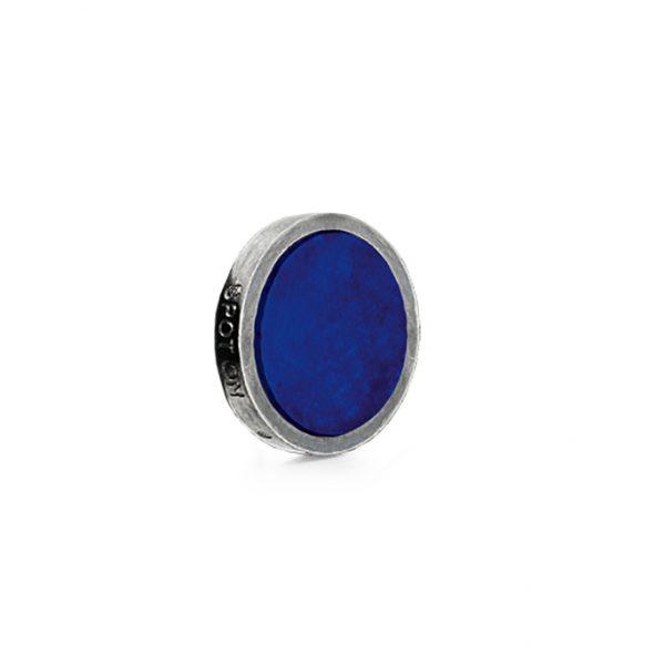 Mestergull Charm Spot On i sølv med lapis Lazuli plate LYNGGAARD Spot On Charm