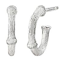 Mestergull Nature øreringer mini i sølv 10 mm LYNGGAARD Nature Ørepynt