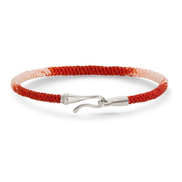 Mestergull Life armbånd med sølvlås Red Emotions (15, 16, 17, 18, 19, 20, 21 cm) LYNGGAARD Life Armbånd