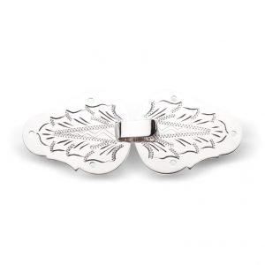 Mestergull Vesthekter utført i hvitt sølv og med håndgraverite detaljer NORSK BUNADSØLV Diverse