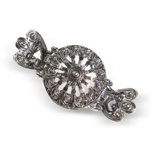 Mestergull Hårklype i oksidert sølv til de fleste bunader. Finnes i flere størrelser og farger. NORSK BUNADSØLV Diverse