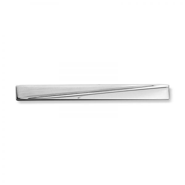Mestergull Flott slipsnål i rhodinert sølv MESTERGULL Slipsnål