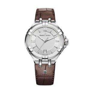 Mestergull Et ur med et nytt, moderne design som er tilpasset moderne smak. Hvert element i AIKON-serien utstråler luksus med kvalitets finish og høy presisjons kvartsurverk. MAURICE LACROIX Aikon Ur