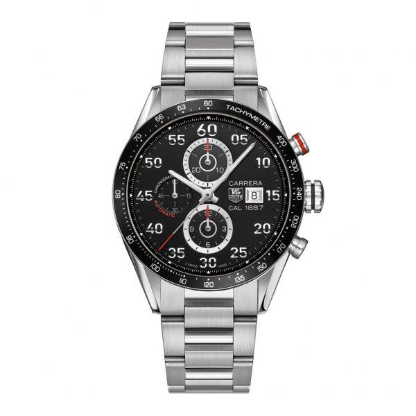 Mestergull Den klassiske, men moderne sportsklokken inspirert av motor sporten. Jack Heuer opprettet Carrera-uret i 1963 som en hyllest til Carrera Panmericana-billøpet. Uret er perfekt for det daglige livet takket være et enkelt, elegant og lesbart design. TAG HEUER Carrera Ur