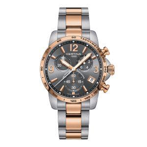 Mestergull En klassisk og elegant klokke som passer til alle anledninger. Denne modellen er designet med elementer som er tidløse og har en tallskive som er lett å lese CERTINA DS Podium Ur