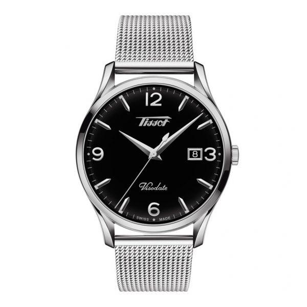 Mestergull Tissot Heritage Visodate oversetter nostalgi til nåtidens moderne klokker, dedikert til detaljer. TISSOT Heritage Visodate Ur