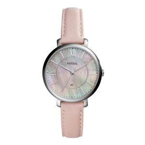 Mestergull Designet for tomgirl med et snev av glam, er Jacqueline klokken som trekker alt sammen. FOSSIL Ur