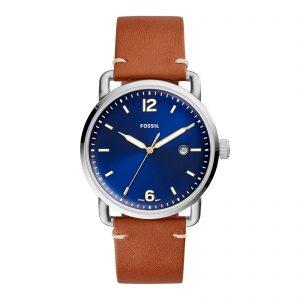 Mestergull Ligner på et armbåndsur fra århundreskiftet, gir denne klokken med tre visere og dato et upåklagelig inntrykk med sin ikoniske urkasse, konkave skivekonstruksjon og generell ren estetikk. FOSSIL Ur